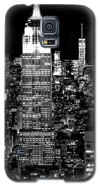 Empire State Building Galaxy S5 Case - City Of The Night by Az Jackson