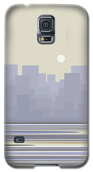 City Skyline Morning Galaxy S5 Case