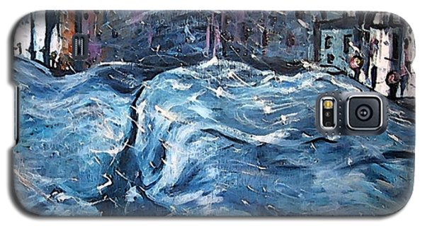 City Snow Storm Galaxy S5 Case