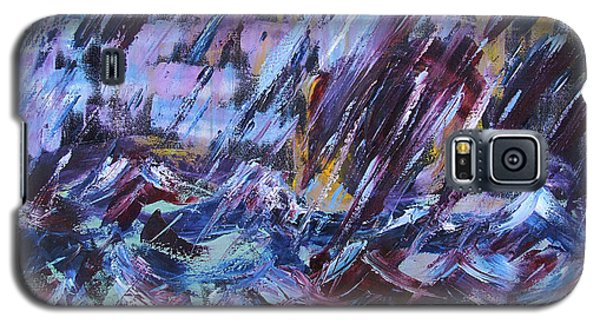 City Storm Abstract Galaxy S5 Case