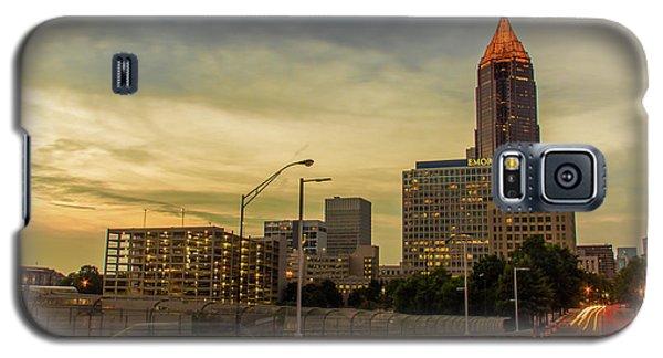 City Sunset Galaxy S5 Case