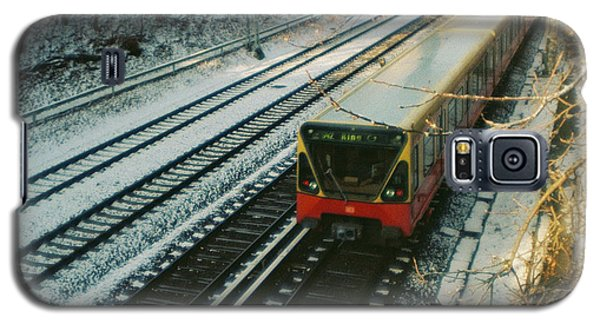 City Train In Berlin Under The Snow Galaxy S5 Case