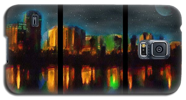 City Under A Blue Moon Galaxy S5 Case
