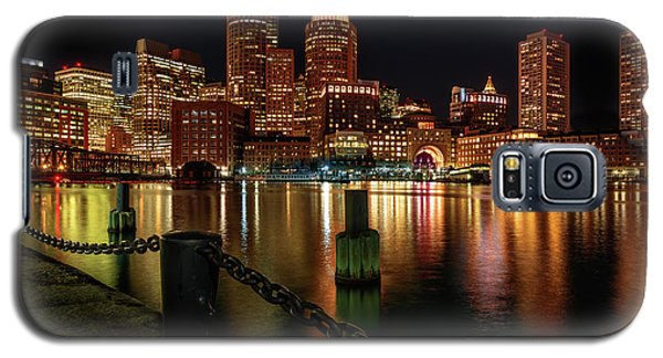 City With A Soul- Boston Harbor Galaxy S5 Case