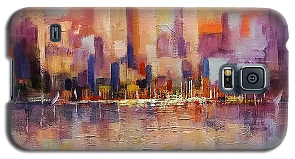 Cityscape 2 Galaxy S5 Case