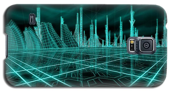 Cityscape 2010 Alpha Galaxy S5 Case