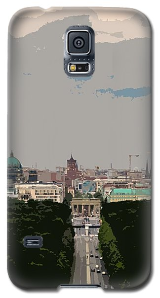 Cityscape Of Berlin - Painting Effect Galaxy S5 Case