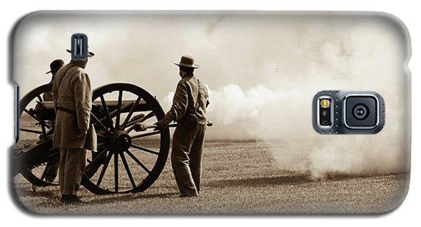 Civil War Era Cannon Firing  Galaxy S5 Case