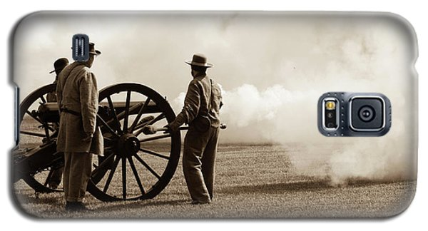 Civil War Era Cannon Firing  Galaxy S5 Case