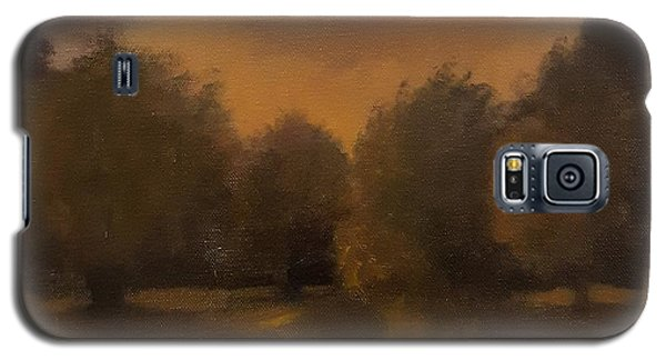Clapham Common At Dusk Galaxy S5 Case