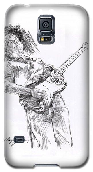 Clapron Blues Down Galaxy S5 Case by David Lloyd Glover