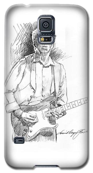 Clapton Riff Galaxy S5 Case by David Lloyd Glover