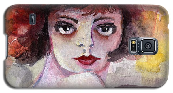 Clara Bow Vintage Movie Stars The It Girl Flappers Galaxy S5 Case