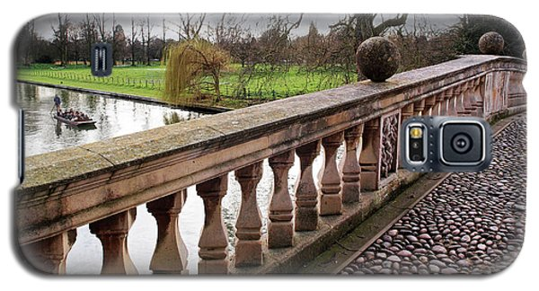 Galaxy S5 Case featuring the photograph Clare College Bridge Cambridge by Gill Billington