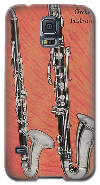 Clarinet And Giant Boehm Bass Galaxy S5 Case