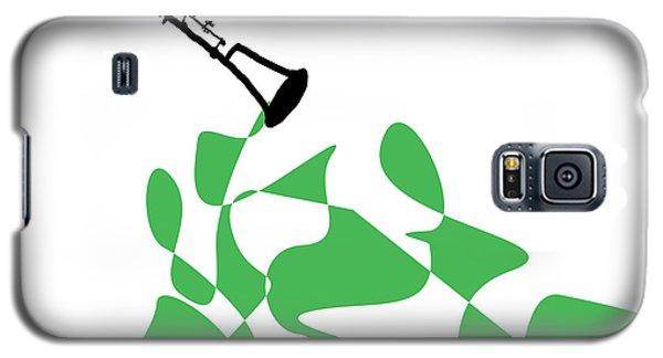 Clarinet In Green Galaxy S5 Case by David Bridburg