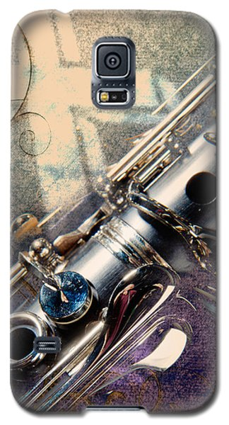 Clarinet Music Instrument Against A Cross 3520.02 Galaxy S5 Case