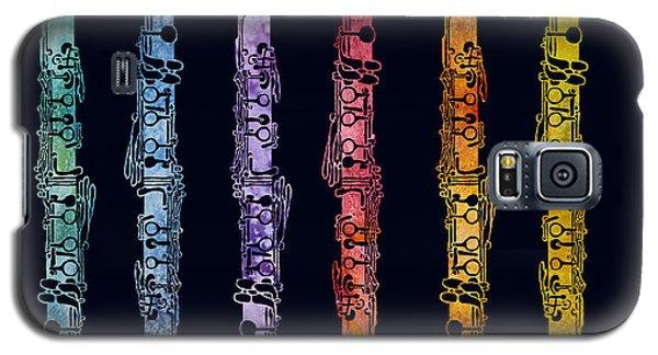 Clarinet Rainbow Galaxy S5 Case