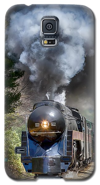 Class J 611 Steam Engine At Ridgecrest Galaxy S5 Case