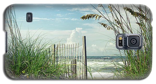 To The Beach Sea Oats Galaxy S5 Case