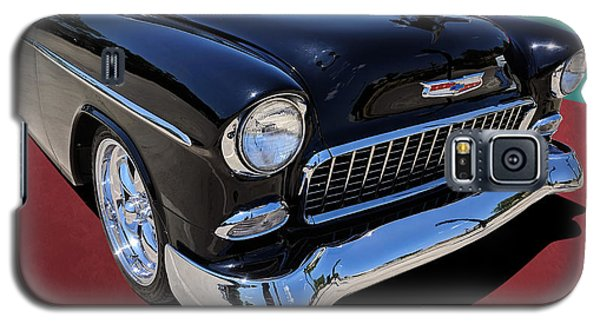 Classic Black And White 1950s Chevy Bel Air Galaxy S5 Case