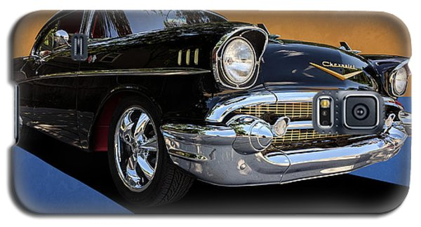 Classic Black Chevy Bel Air With Gold Trim Galaxy S5 Case