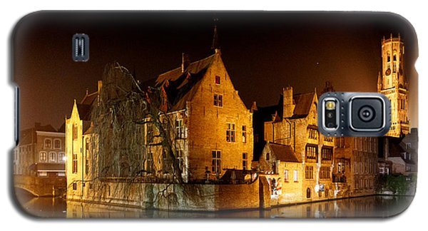 Classic Bruges At Night Galaxy S5 Case