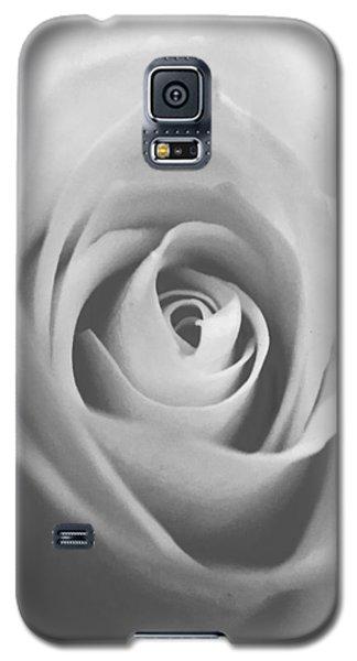 Classic Bw Rose Galaxy S5 Case