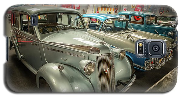 Galaxy S5 Case featuring the photograph Classic Car Memorabilia by Adrian Evans
