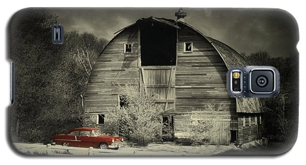 Galaxy S5 Case featuring the photograph Classic Chevrolet  by Julie Hamilton