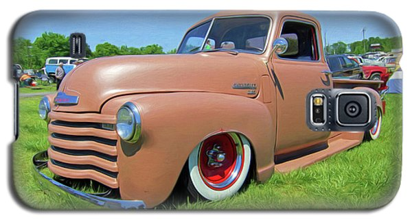 Classic Chevrolet Truck Galaxy S5 Case by Marion Johnson