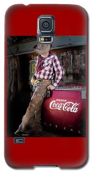 Classic Coca-cola Cowboy Galaxy S5 Case