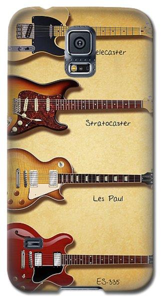 Classic Electric Guitars Galaxy S5 Case