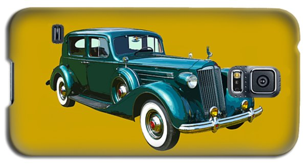Classic Green Packard Luxury Automobile Galaxy S5 Case by Keith Webber Jr