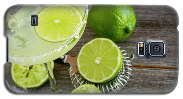 Galaxy S5 Case featuring the photograph Classic Lime Margarita by Teri Virbickis