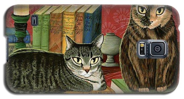 Classic Literary Cats Galaxy S5 Case
