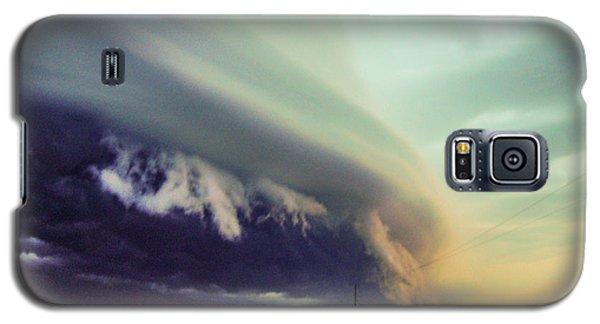 Classic Nebraska Shelf Cloud 024 Galaxy S5 Case