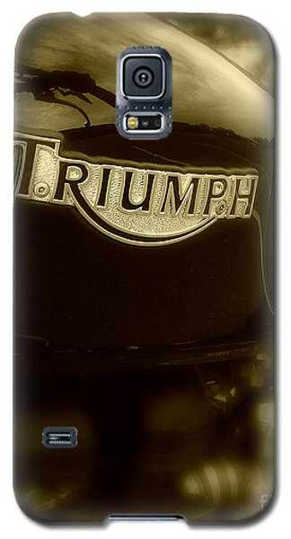 Classic Old Triumph Galaxy S5 Case