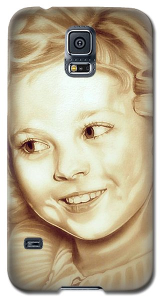 Classic Shirley Temple Galaxy S5 Case by Fred Larucci