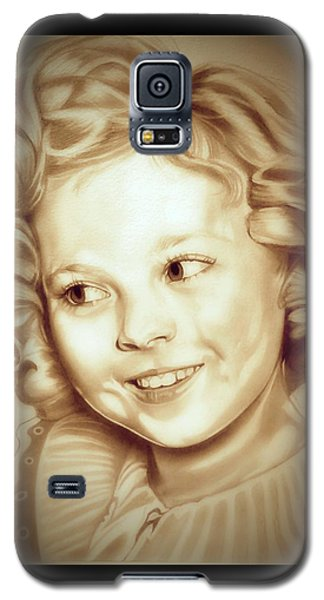 Shirley Temple Galaxy S5 Case - Classic Shirley Temple by Fred Larucci