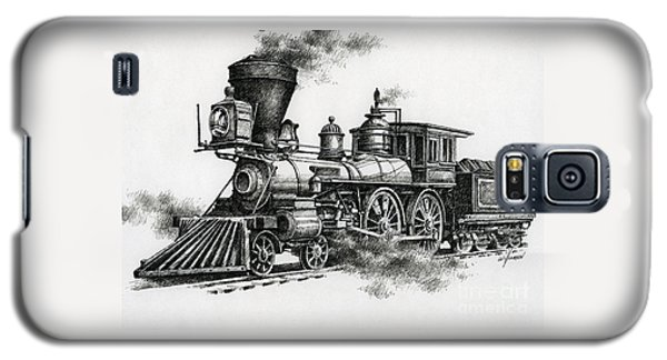 Train Galaxy S5 Case - Classic Steam by James Williamson