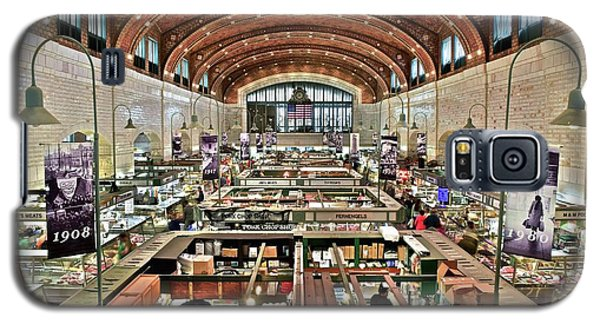 Classic Westside Market Galaxy S5 Case by Frozen in Time Fine Art Photography