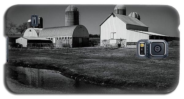 Classic Wisconsin Farm Galaxy S5 Case