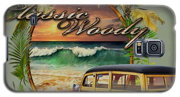 Classic Woody Galaxy S5 Case