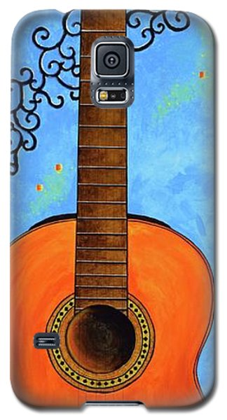 Galaxy S5 Case featuring the painting Classical Music by Mary Scott