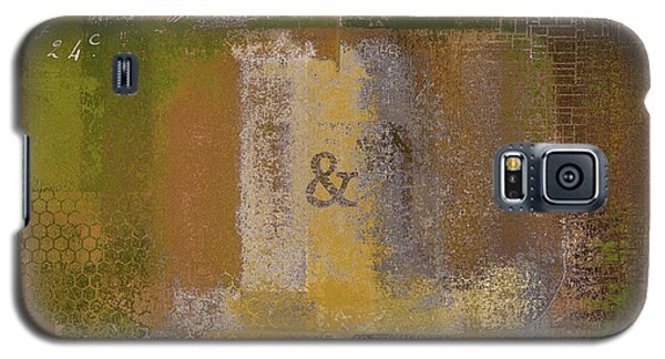 Galaxy S5 Case featuring the digital art Classico - S0309b by Variance Collections