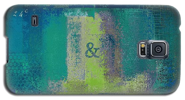 Galaxy S5 Case featuring the digital art Classico - S03c04 by Variance Collections