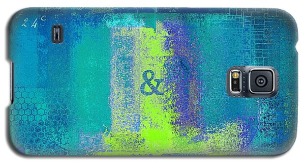 Galaxy S5 Case featuring the digital art Classico - S03c26 by Variance Collections
