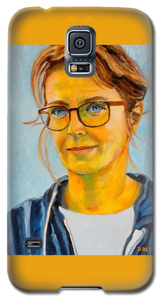 Claudia-portrait Galaxy S5 Case