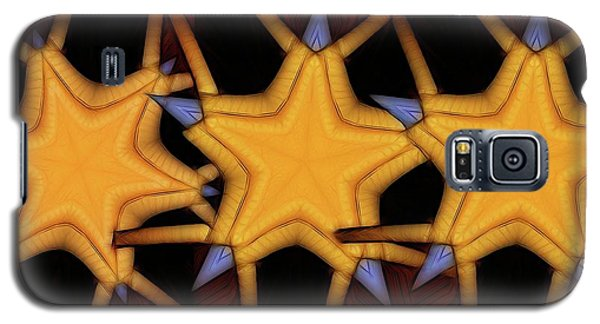Galaxy S5 Case featuring the digital art Clawed Stars  by Ron Bissett